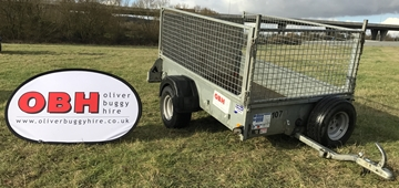 High Sided Cage Trailers For Hire