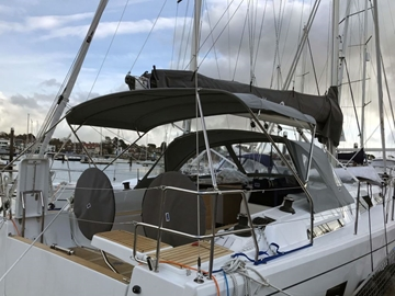 Bespoke UK Design And Manufactured Biminis For Yachts