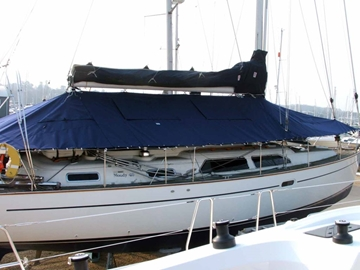 Bespoke Full Deck Cover For Yachts
