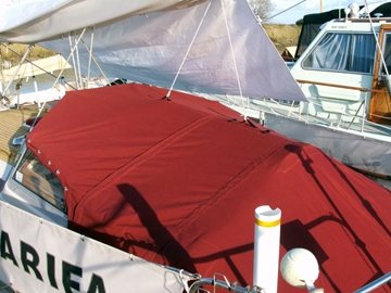 Bespoke Manufacture Of Tonneau For Sailing Yachts