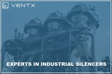 Atmospheric Vent Discharge Industrial Silencer