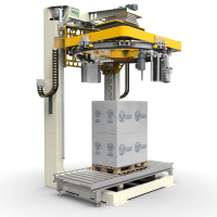 Fully Automatic Stretch Wrapping Machine