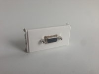 MicroConnect Outlet Panel VGA (20cm Cable)  WI221278 - eet01