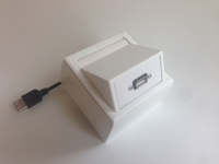 ProFusion Wall Connection Box USB 3.0 A-A WI221185 - eet01