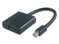 MicroConnect Active Mini DP M to HDMI Adapter, support Displayport MDPHDMI6B - eet01