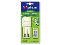 Verbatim 2 Cell Compact Charger for AA & AAA 49944 - eet01