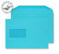 809MW Blake Creative Colour Cocktail Blue Window Gummed Mailer 162X235mm 120Gm2 Pack 500 Code 809Mw 3P- 809MW