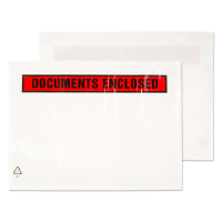 PDE12 Blake Purely Packaging Clear - Printed Peel & Seal Wallet 123X111mm 30Mu Pack 1000 Code Pde12 3P- PDE12