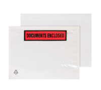 PDE22 Blake Purely Packaging Clear - Printed Peel & Seal Wallet 168X126mm 30Mu Pack 1000 Code Pde22 3P- PDE22
