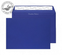 45343 Blake Creative Colour Victory Blue Peel & Seal Wallet 162X229mm 120Gm2 Pack 25 Code 45343 3P- 45343