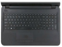 HP Top cover & keyboard (France) With TouchPad Jack Black color 855027-051 - eet01