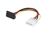 MicroConnect PC Y Power Cable/Adapter 90 SATA Power 4pin-15pin 0,13m PI01081A - eet01