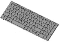 HP Keyboard (Swiss)  L28407-BG1 - eet01