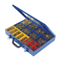 3400pc Countersunk Screws In Carry Case