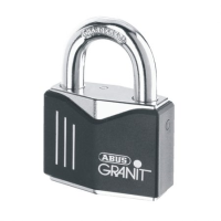 37/55C Granit Plus Padlocks solid steel