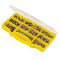 780pc Goldstar Countersunk Screws In Carry Case