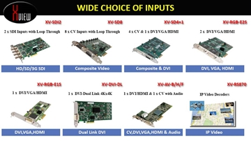 X-View DPX-E Display Processors