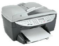 HP OfficeJet 6110 Multifuction Colour InkJet Printer Q1636A - Refurbished
