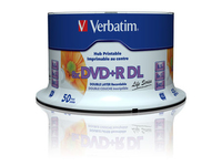 Verbatim DVD+R Double Layer 8X 8.5GB 50 Pack Spindle 97693 - eet01
