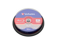 Verbatim BD-RE Single Layer 25GB 2X Scratchguard surf.,10 Pack 43694 - eet01