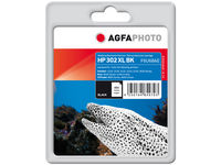 AgfaPhoto Ink, Black HP No. 302 XL Pages 480 APHP302XLB - eet01