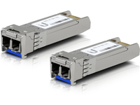 Ubiquiti Networks SFP MODULE SINGLE-MODE 10GBPS 10KM 2 PACK UF-SM-10G - eet01