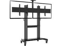 """Vivolink Mobile stand double 40""""-65"""" For two screens videoconfence VLFS4065X2 - eet01"""