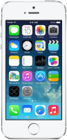 Apple Iphone 5s 16gb Silver With Headset, Usb Cable & Eu Adapter Me433 - xep01