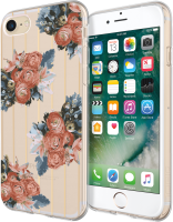 Incipio Design Series iPhone 7 Rustic Floral IPH-1483-RFL - eet01