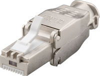 MicroConnect Tool-free RJ45 CAT6A connector CAT 6A STP(shielded) KON523TL - eet01
