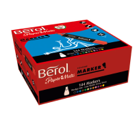 S0661200 Berol Colourmarker Bullet Assorted Pack of 144 3P- S0661200