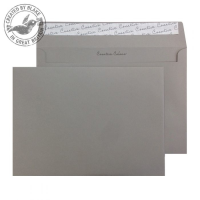 325 Blake Creative Colour Storm Grey Peel & Seal Wallet 162X229mm 120Gm2 Pack 500 Code 325 3P- 325