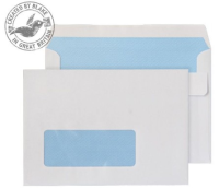 2603W Blake Purely Everyday White Window Self Seal Wallet 114X162mm 90Gm2 Pack 1000 Code 2603W 3P- 2603W