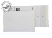 A/000 Blake Purely Packaging White Peel & Seal Padded Bubble Pocket 165X100mm 90Gm2 Pack 200 Code A/000 3P- A/000