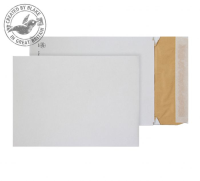 EPE4 Blake Purely Packaging White Peel & Seal Padded Gusset Pocket 400X280X50mm 140G Pk100 Code Epe4 3P- EPE4