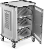 """Hp Hp 32u Essential Charging Cart - Cart (charge Only) For 32 Notebooks (open Architecture) - Lockable - Screen Size: Up To 15"""" - For Elite X2; Elitebook 830 G6  850 G6; Probook 445r G6  455r G6  650 G5; Zbook 14u G6  15u G6 1hc89aa#abu - xep01"""