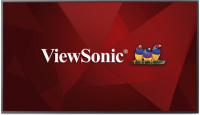 """ViewSonic 55"""" Commercial 4K UHD Display W/2160p, 350cd/m Direct-LED, CDE5510 - eet01"""