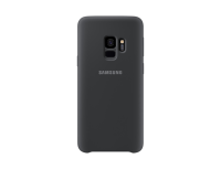Samsung Samsung Silicone Cover Ef-pg960 - Back Cover For Mobile Phone - Silicone - Black - For Galaxy S9  S9 Deluxe Edition Ef-pg960tbegww - xep01