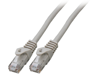 MicroConnect U/UTP CAT6 20M Grey Snagless Unshielded Network Cable, UTP620BOOTED - eet01
