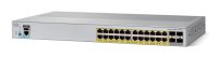 Cisco Cisco Catalyst 2960l-24ps-ll - Switch - Managed - 24 X 10/100/1000 (poe+) + 4 X Gigabit Sfp (uplink) - Desktop  Rack-mountable - Poe+ (195 W) Ws-c2960l-24ps-ll - xep01