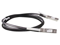 Hewlett Packard Enterprise Hpe Aruba Direct Attach Copper Cable - 10gbase Direct Attach Cable - Sfp+ (m) To Sfp+ (m) - 3 M - Twinaxial - Passive - For Hpe Aruba 2930f 24g  2930f 48g  2930m 24  8320  8325-48y8c J9283d - xep01
