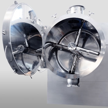 Vacuum Dryers with Central Agitator