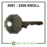 Knoll office furniture keys 2001-2200