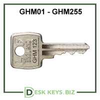 Harvey Cabinet Keys GHM001-GHM155