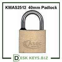 KMAS2512 40mm Locker Padlock  (Keyed Alike)