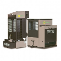 Bio Oil Fired Heaters With Flue Connection