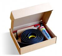Black / Yellow Stripe Rubber Floor Seal Kits
