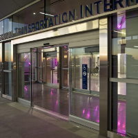 All Glass Storefront Door Systems