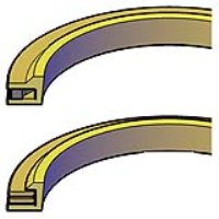 Brass AN Type Metal Cased Wipers