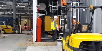 Plant Machinery Moving Services